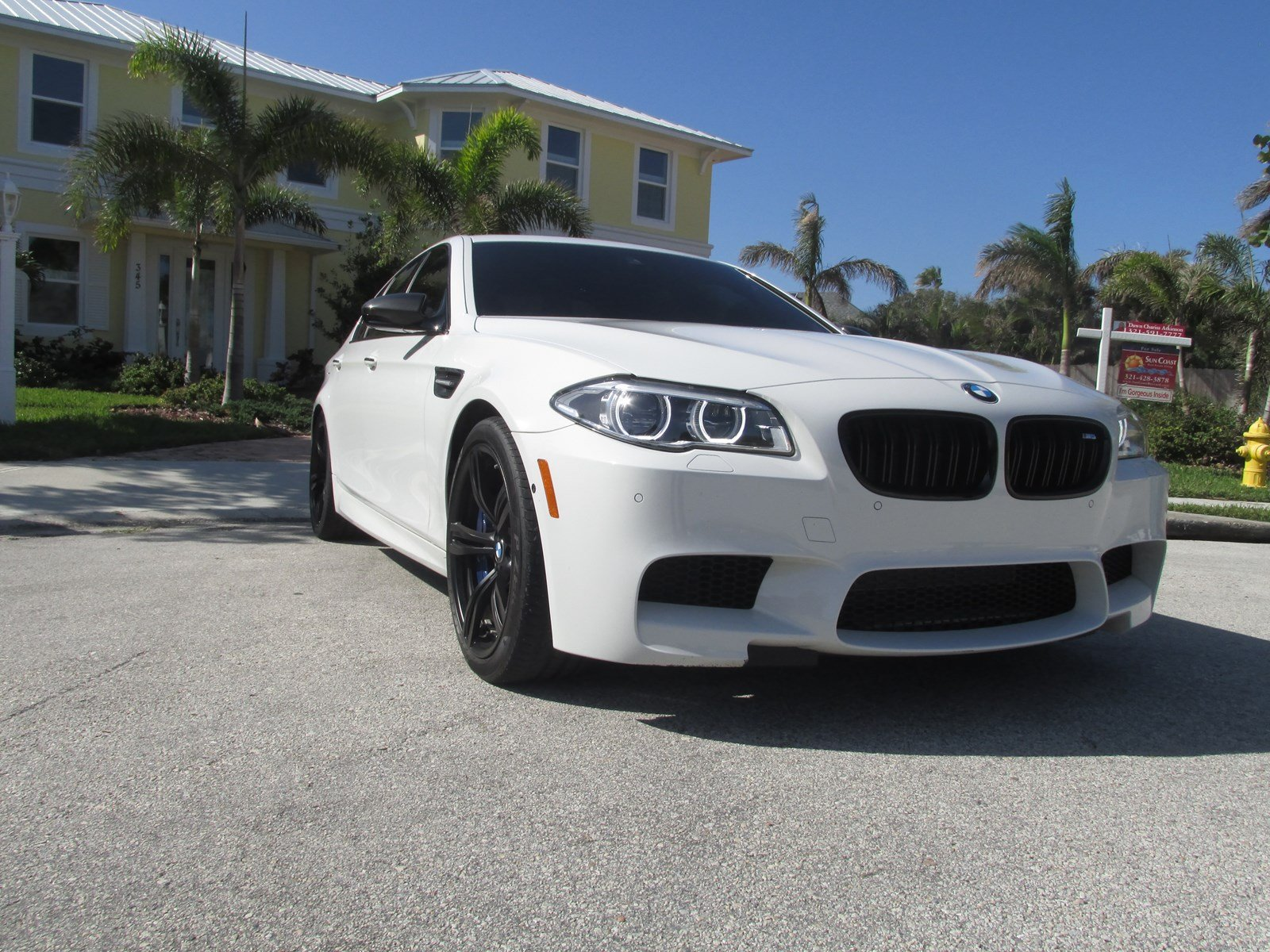 Certified Pre-Owned 2016 BMW M5 4DR SDN