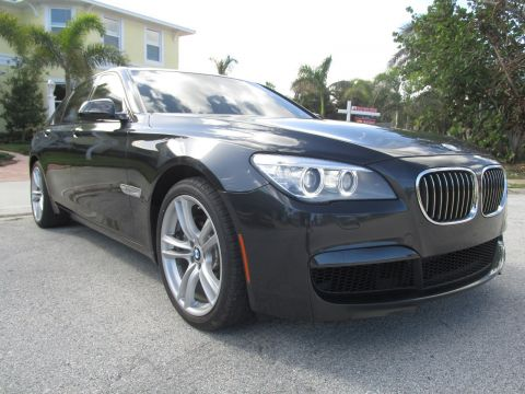 Pre-Owned 2014 BMW 7 Series 740i RWD 4dr Car